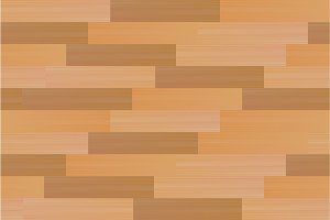 Seamless pattern with wooden parquet. Vector texture