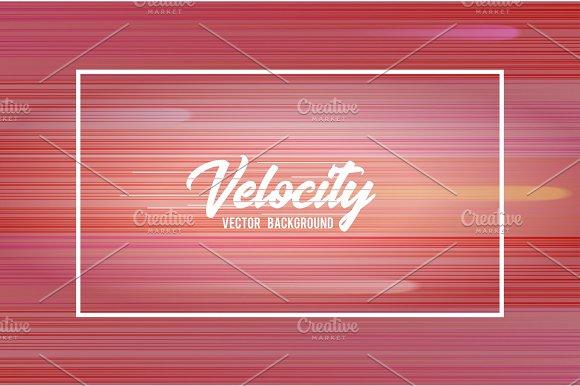 Velocity Vector Background 01 Speed Movement Pattern Design