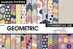 Geometric Seamless Patterns DP16001
