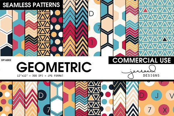 Seamless Geometric Pattern DP16002