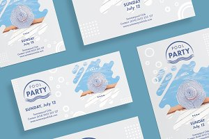 Flyers | Pool Party