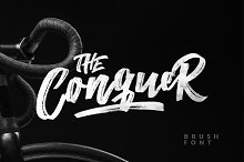 The Conquer Brush Typeface
