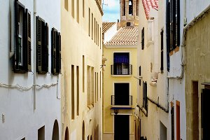 Old Street in Mahon