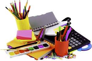 School Supplies Concept