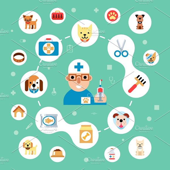 Veterinary Clinic Concept