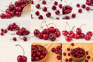 sweet cherry collage 1