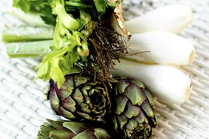 Ingredients of Artichoke Soup