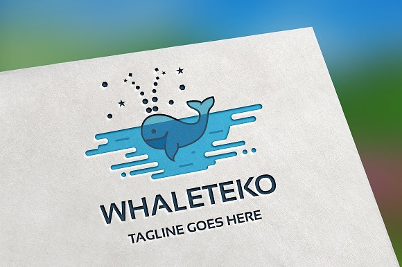 Whaleteko Logo