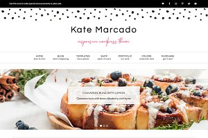 Kate Marcado WordPress Theme