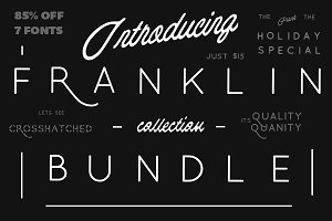 85% OFF Franklin Collection Bundle