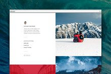 Split tumblr theme