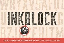 Inkblock – Illustrator Actions