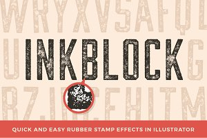 Inkblock – Illustrator Actions