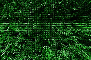 Horizontal green communication business abstraction background