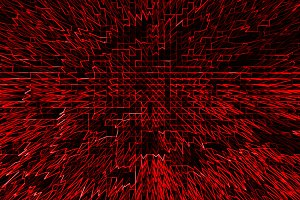 Horizontal red communication business abstraction background