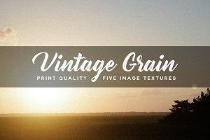 Vintage Grain Image Textures