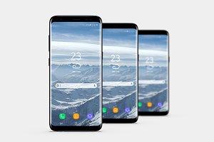 Smartphone Mock-Ups Vol. 2