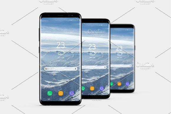 Smartphone Mock-Ups Vol 2