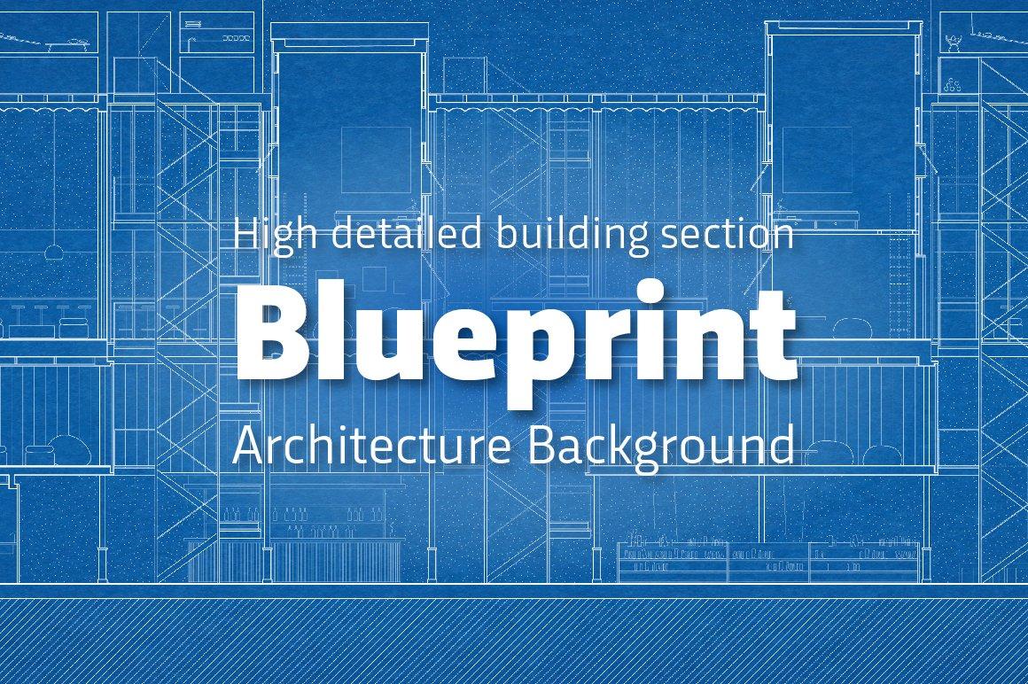 Blueprint technical plan background illustrations creative market malvernweather Image collections