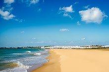 Conil Beach. Cadiz, Andalusia Spain