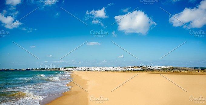 Conil Beach. Cadiz, Andalusia Spain - Nature