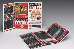 Cafe & Restaurant Trifold Brochure01