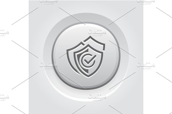 Multilevel Security Icon Flat Design