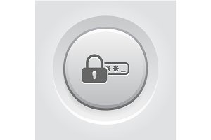 Safety Access and Password Protection Icon.