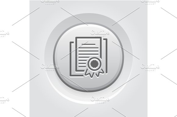Security Certificates Icon Flat Design