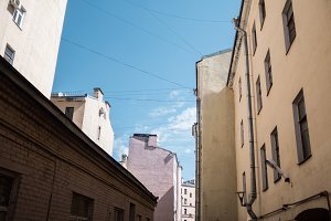 Typical Petersburg houses