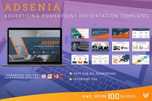 Ads Analytics PowerPoint Template