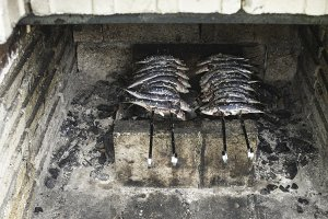 Fish on BBQ