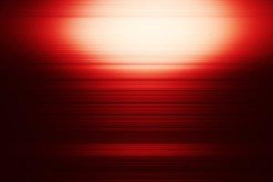 Horizontal vivid red digital alloy design abstraction
