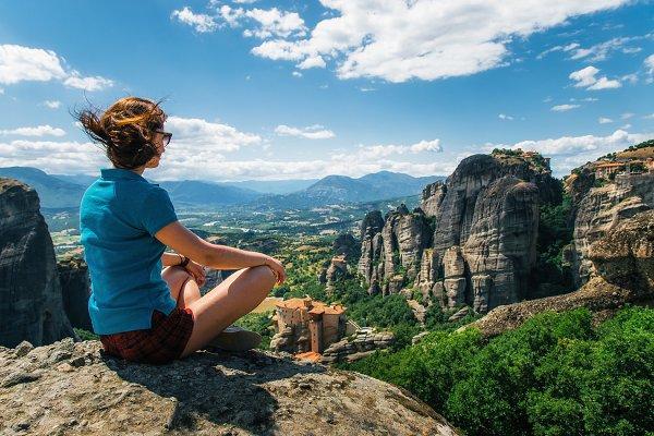 Traveler are enjoying The Meteora