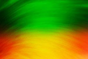 Orange green vivid blur abstraction