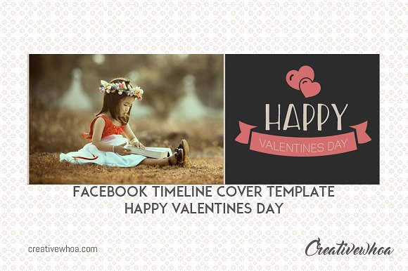 Facebook Template Valentines Day