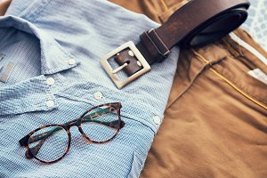 Men's casual,Vintage style