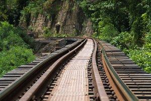 Railroad wood