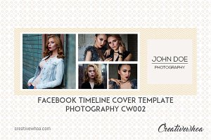 Facebook  Cover Template Photography