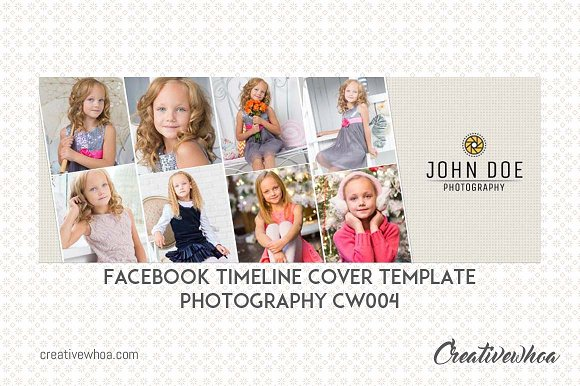 Facebook Cover Template CW004
