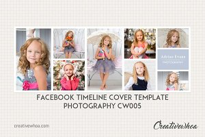 Facebook Cover Template CW005