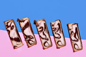 bread sweet minimal art