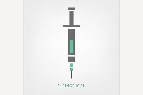 Syringe Icon Image