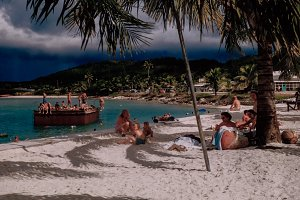 Tropical Paradise 1950's