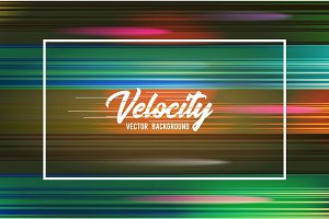 Velocity vector background 05. Speed movement pattern design. High speed and Hi-tech abstract technology concept