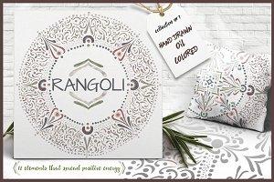 RANGOLI - MANDALA CLIP ART