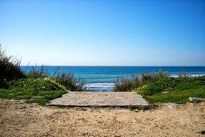 Path to the Beach. Tarifa. Spain