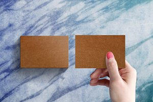 Blank Craft paper on hand