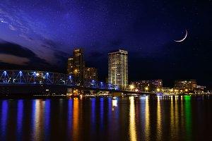 Beautiful night in Jacksonville