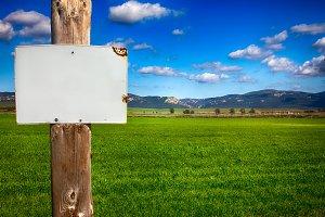 Rural Informative Post Empty